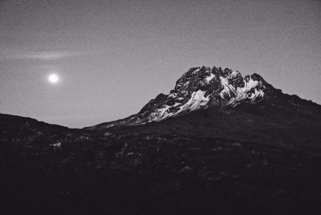 Climb Kilimanjaro guided by the light from the full moon