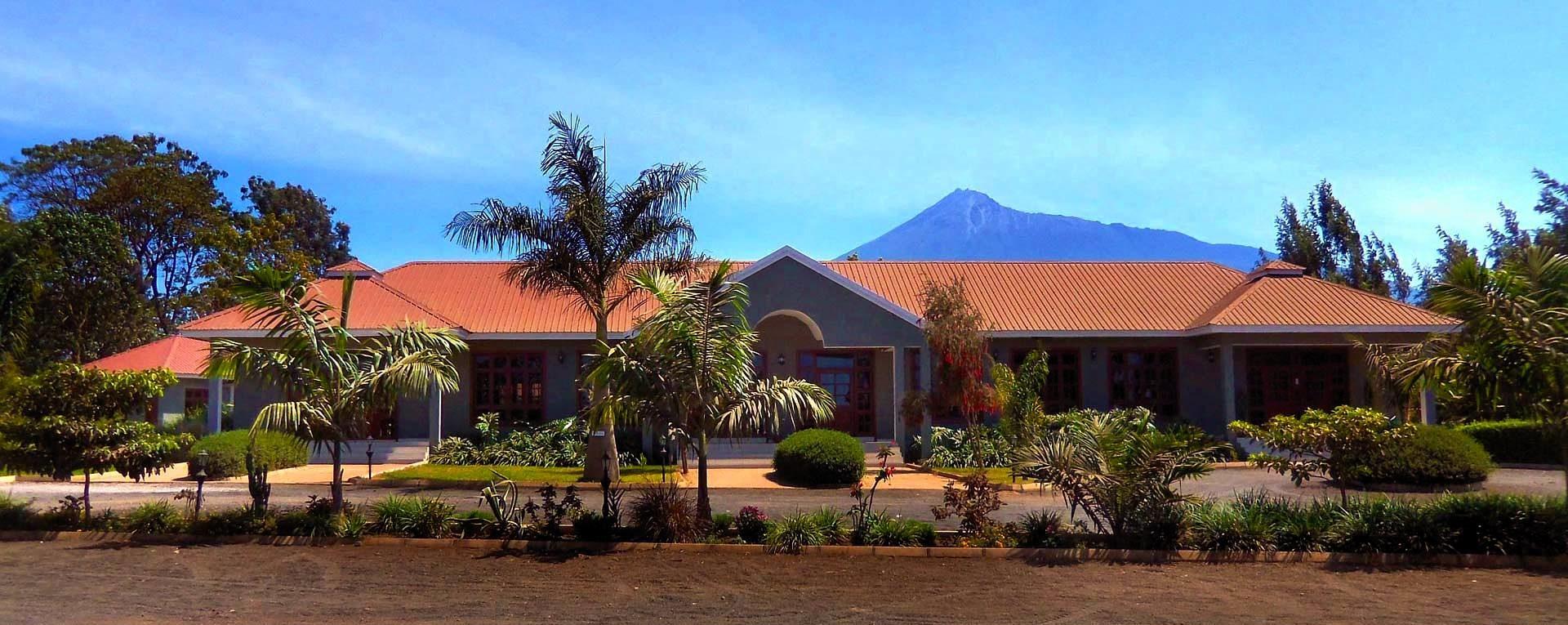 Planet Lodge Arusha main building