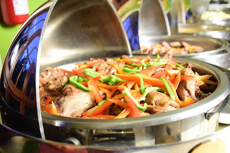 Arusha Planet Lodge food