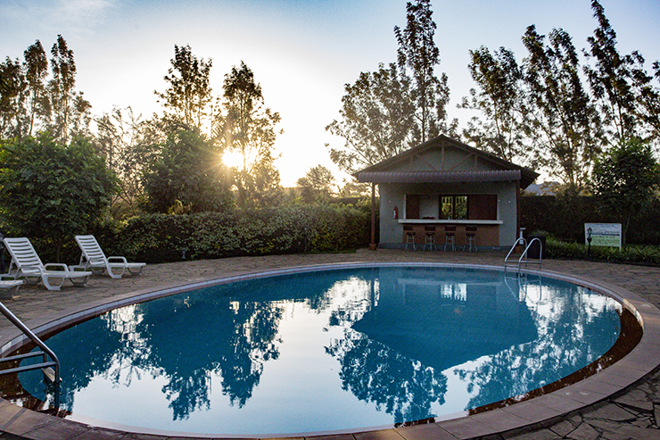 Planet Lodge pool