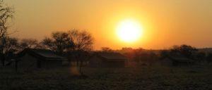 Nyati Migration Camp sunset