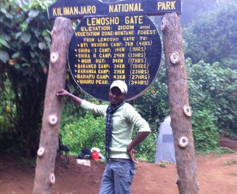 January Musa Kilimanjaro guide