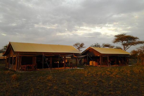 Dusk at Tanzania Bush Camp