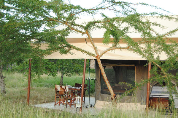 Tanzania Bush Camp tent