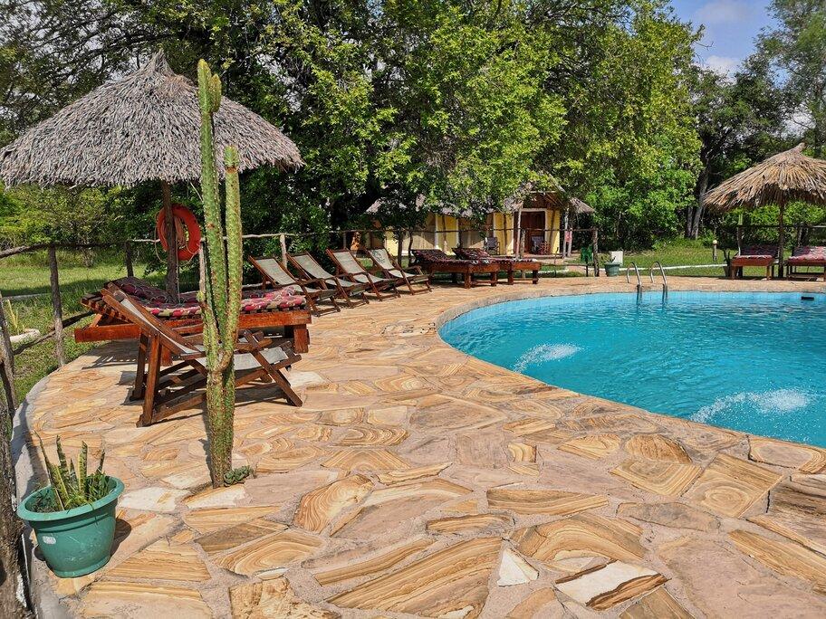 Pool at Africa Safari Camp