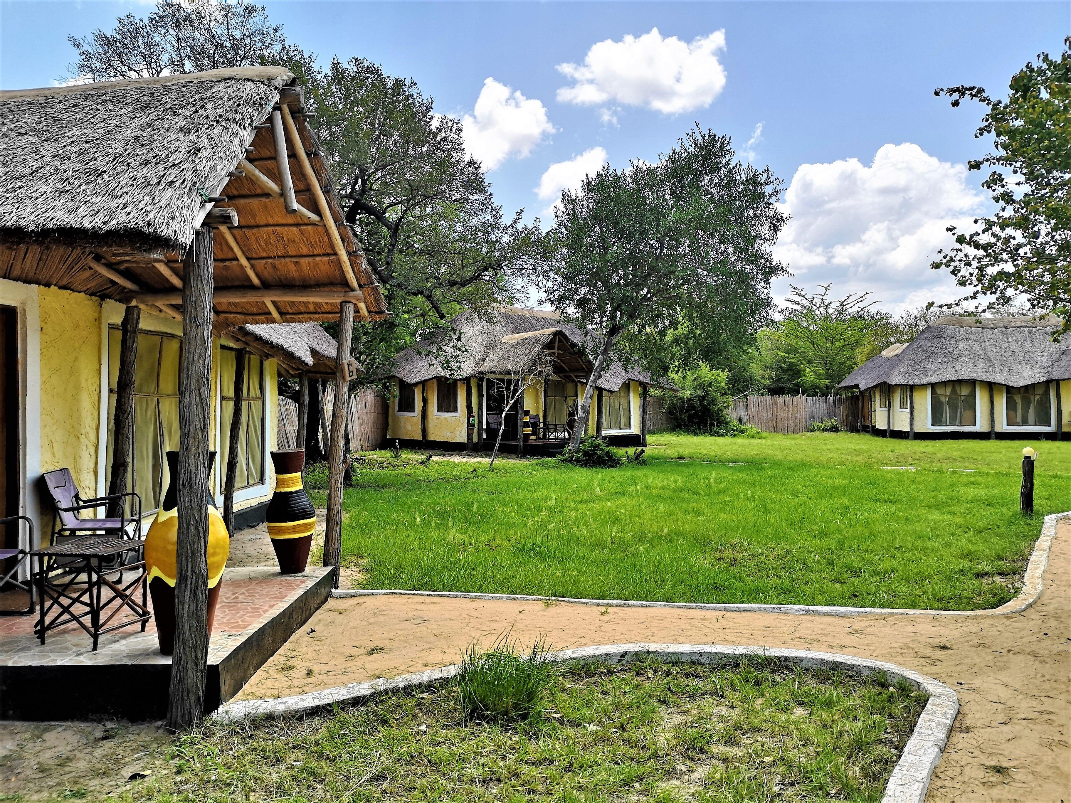 Africa safari Camp, Selous, Tanzania