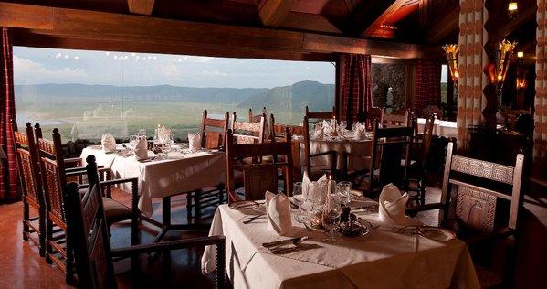 Dinner at Ngorongoro Serena Lodge