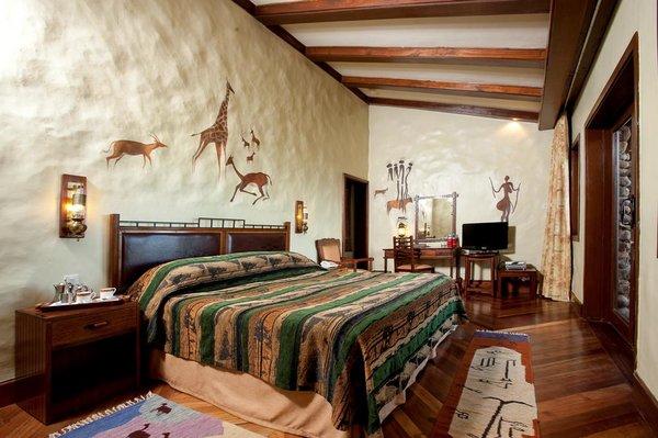 Double room at Ngorongoro Serena Lodge