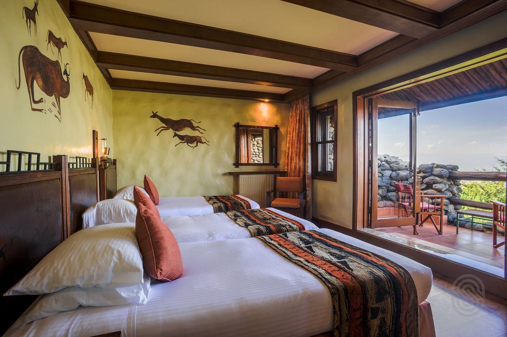 A room at Ngorongoro Serena Lodge