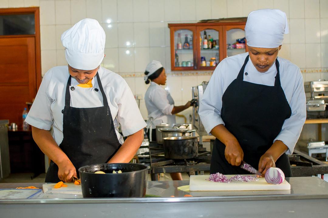 Summit Safari Lodge kitchen