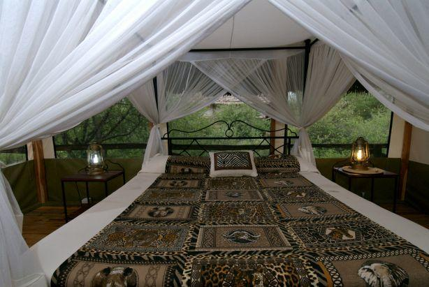 To see what the inside of the tents look like at Lake Burunge Tented Lodge